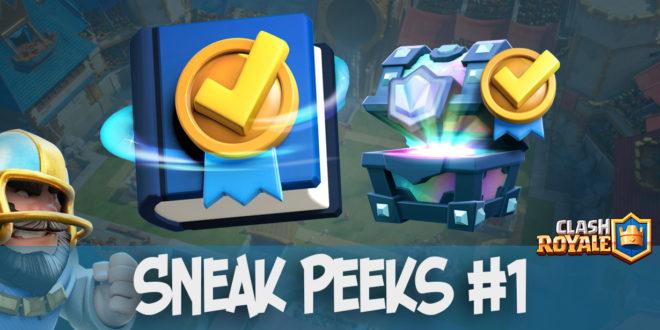 Sneak Peeks 1 - Квесты в Clash Royale
