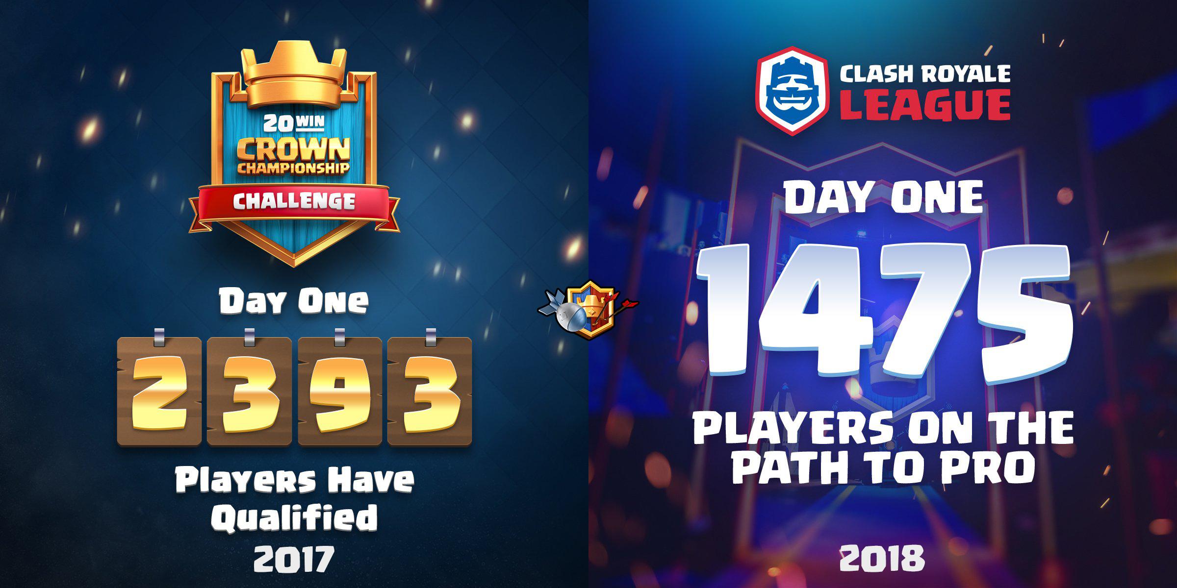 20 побед в первый день Clash Royale