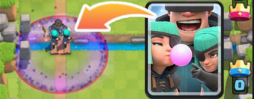 Новая карта Clash Royale v.2.2.1