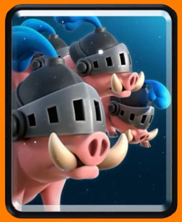 Королевские кабаны/ Royal Hog в Clash Royale