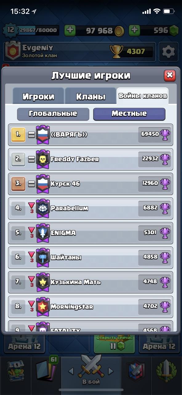 Русский клан воспользовался багом в Clash Royale