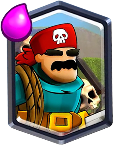 Новая легендарная карта - пират