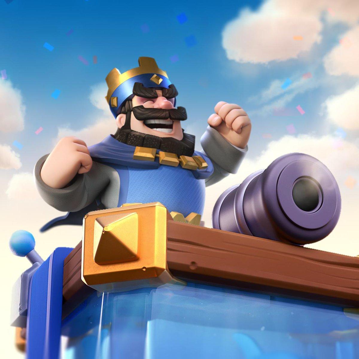 Новый скин для башни короля в Clash Royale