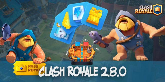 Clash Royale v.2.8.0 - скачать июльское обновление с Рыбаком
